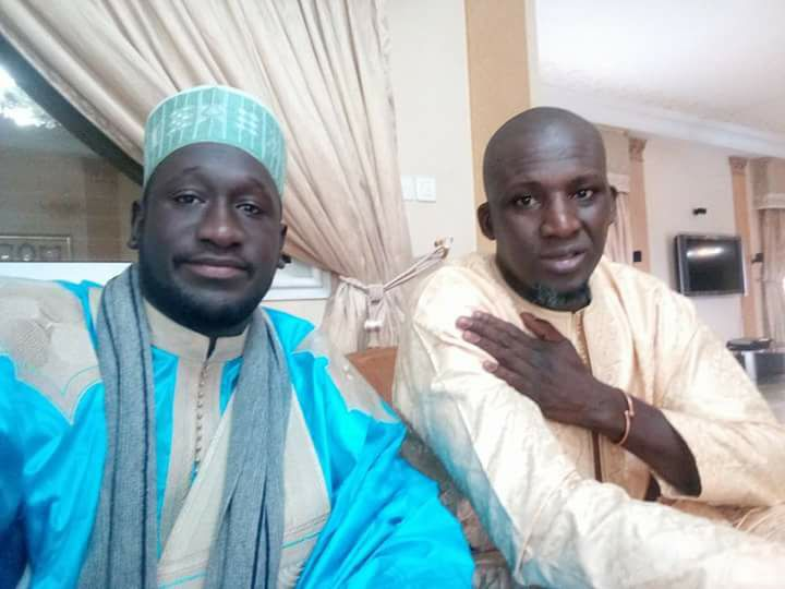 Serigne Assane Mbacke et Assane Diouf